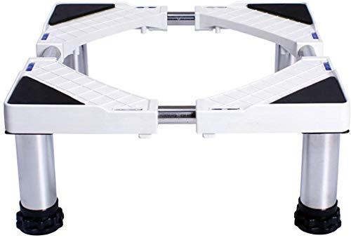 Dongyd Base ajustable escalable con 4 pies fuertes tamaño ajustable universal carro de la máquina para lavar (tamaño: altura 29 – 32 cm)