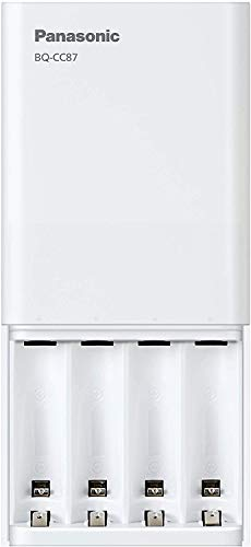 Panasonic Eneloop USB Quick Charger for 1–4 Aa/Aaa Ni-Mh Batteries,...