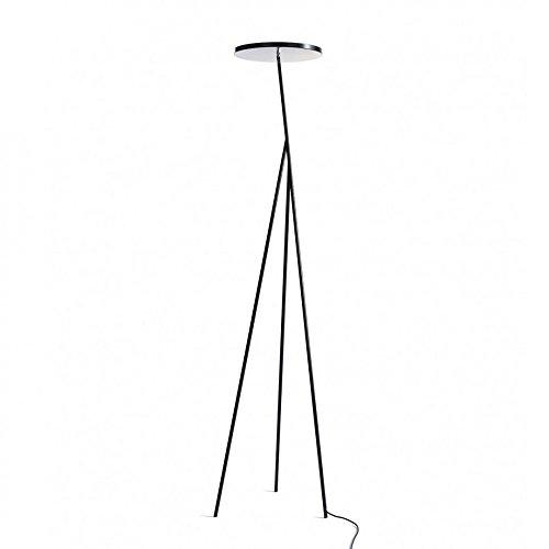 Anta Faro LED Stehleuchte, schwarz lackiert Größe 2 H 198cm 2700K 6700lm
