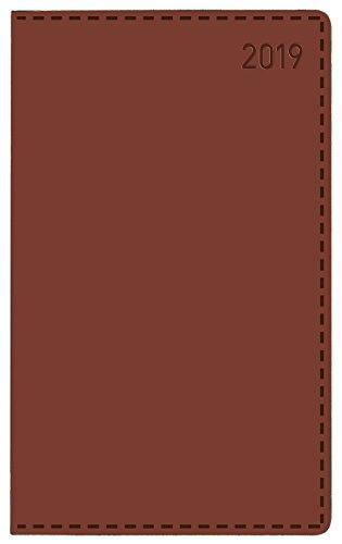 Daily Timer Compact braun Blackline, 336 Seiten 30 2019: DIN A6 Terminplaner. Taschenkalender mit Tageskalendarium. 1 Tag 1 Seite.