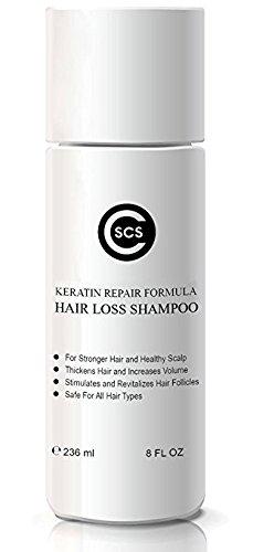 CSCS Large-scale sale Rejuvenating Hair Max 54% OFF Growth Keratin Complex Treatmen Shampoo -