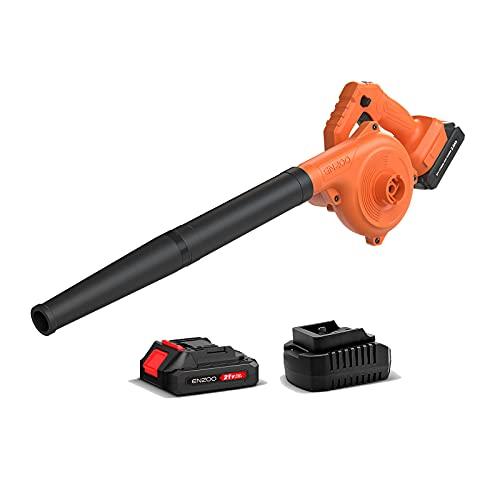ENZOO Cordless Leaf Blower / Dust Vacuum 2-in-1...