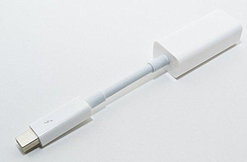 Original Apple A1433 RTS Thunderbolt Port auf Gigabit Ethernet RJ45 NET Verbindungskabel