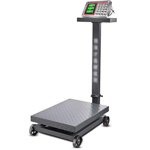 LQH Elektronische wiegende Skala Handelspreiswaage 600kg Präzisionswägung Schwer Elektronische wiegende Skala 300kg wiegende Skala Elektronische Waage