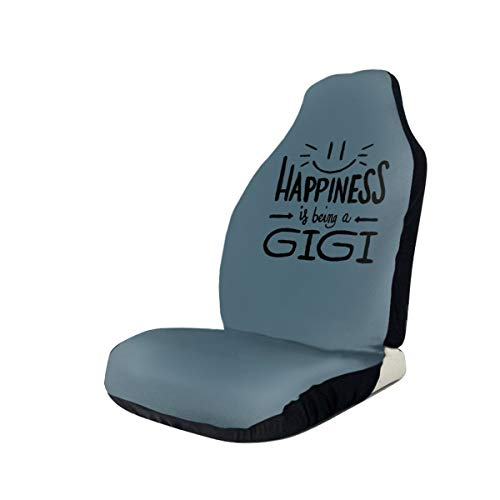 Sootot Happiness is Being A Gigi Car Seat Covers Flexible Auto Seat Covers Fits Most Cars Truck SUV Or Van