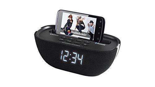 AudioSonic CL 1462 Uhrenradio schwarz