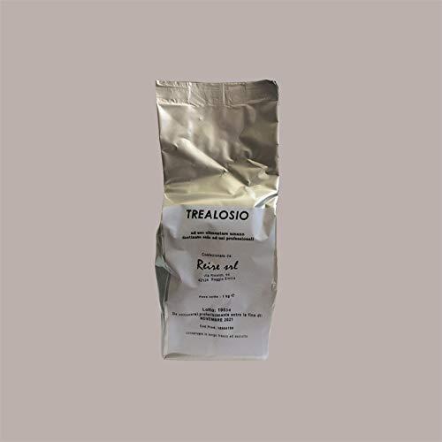 LUCGEL Srl 1 Kg Trealosio 100% Zucchero Naturale per Gelato e Prodotti di Pasticceria destinato solo ad USI PROFESSIONALI
