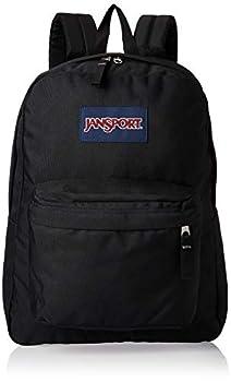 JanSport SuperBreak One Backpack - Lightweight School Bookbag Black