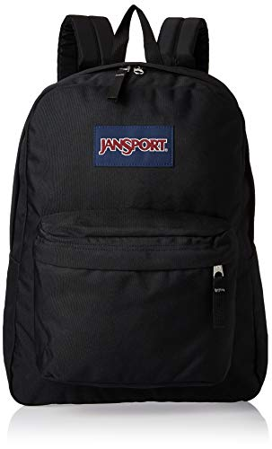 JanSport Superbreak One Backpack - Lightweight School Bookbag - Black