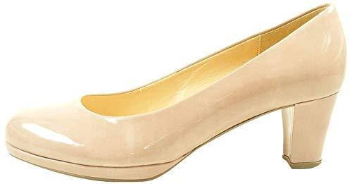 Gabor 71-260 Schuhe Damen Kaffir Lack Pumps Weite F, Größe:38 EU, Farbe:Rosa