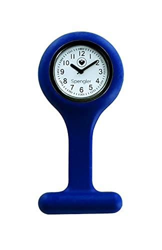Spengler Reloj de Enfermera para un Aspecto Perfecto, Ligero, Resistente y Práctico (Arándano)