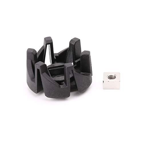 JENOR Piezas de licuadora para asiento de eje de plástico compatibles con HR2003 HR2004 HR2006 HR2024 HR2027