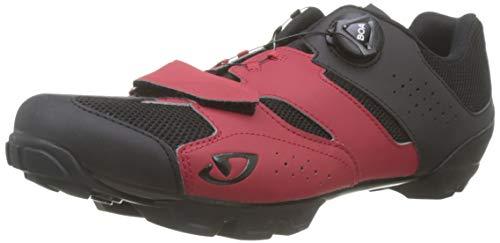 Giro Cylinder Mens Mountain Cycling Shoe − 43, Dark Red/Black (2020)