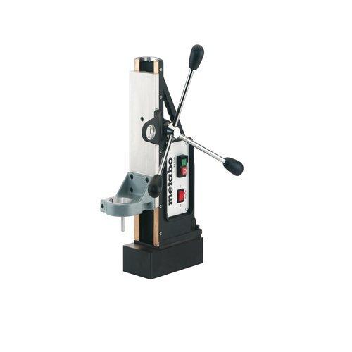 Metabo 627100000 627100000-Soporte magnético M 100 para B 32/3 y Otras taladradoras del Mercado Cuello 65mm, Negro, Size