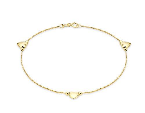 Carissima Gold - 1.26.0071 - Bracelet Femme - Coeur - Or...