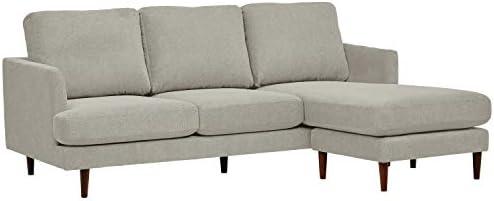 Best Amazon Brand – Rivet Goodwin Modern Sectional Sofa, 88.6