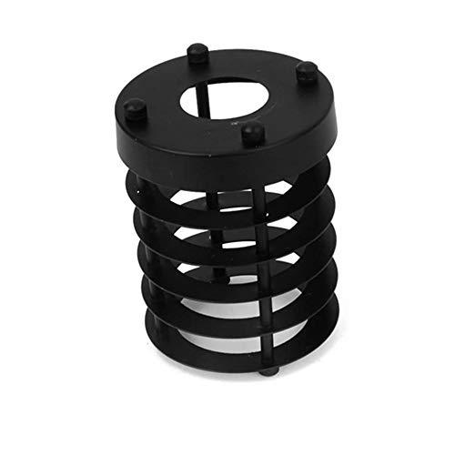 efinehome Efine repuesto lofe minimalista arte Industrial estilo Vintage negro para colgar lámpara de techo colgante (Metal jaula de alambre lámpara Protector lámpara cilindro