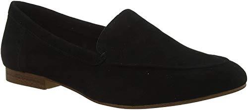 ALDO Women's Joeya Slip-On Loafer, Black Suede, 7