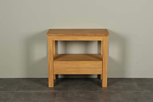 Houten wastafelmeubel 90 cm Console table