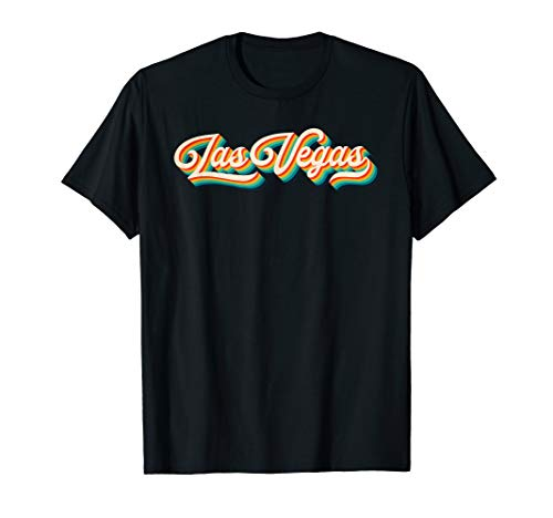 70s Vintage Retro Las Vegas Nevada Throwback Gift T-Shirt