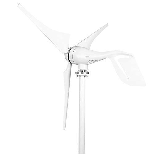 Windkraftanlage-Generator-Satz, 400W DC12V Windkraftanlage 3 Blatt-horizontaler Wind-Generator-Satz für Haushalt(12V)