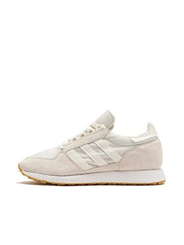 Adidas Forest Grove, Zapatillas de Gimnasia para Hombre, Blanco Cloud FTWR White), 37 1/3 EU
