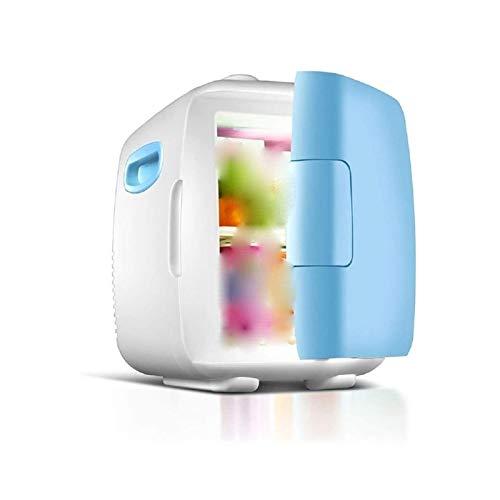 HKJZ SFLRW 5 Liter Compact Portable Cooler Warmer Mini Fridge for Bedroom, Office, Dorm, Car – Great for Skincare & Cosmetics (110-240V/12V)