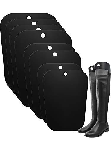 Hormas de Botas Inserto Soporte de Botas Altas para Mujeres y Hombres, 8 Piezas para 4 Pares de Botas