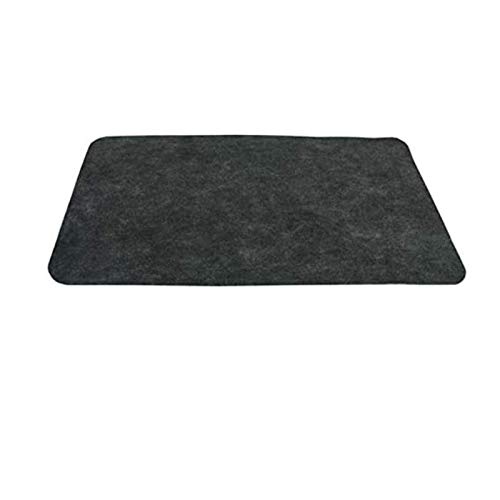 TourKing Under Grill Mat Gas Grill Mat (48'x 30') Under The Grill Protective Deck and Patio Mat, BBQ...