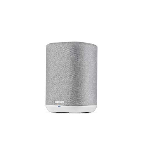 Denon Home 150 Wireless Speaker (2020 Model) | HEOS Built-in, AirPlay 2, and Bluetooth | Alexa Compatible | Compact Design | White