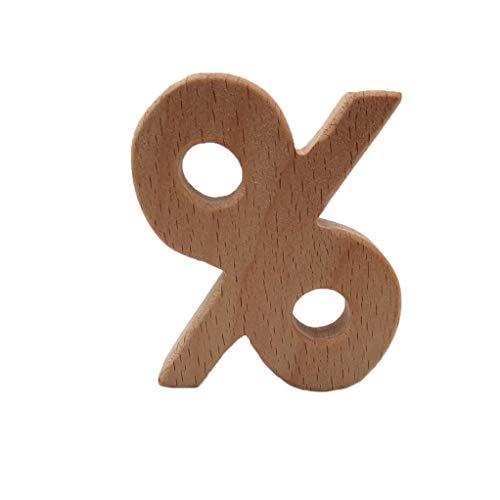Lowest Price! SEVENHOPE Nipple Holder Teethers Baby Teether Cartoon Eco-Friendly Mathematics Symbol