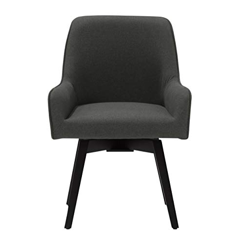 Studio Designs Home Spire Contemporary Swivel, Rotating, Upholstered, Accent Dining/Office Chair...