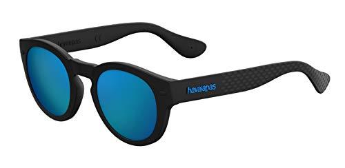 Havaianas TRANCOSO/M Z0 O9N 49 Occhiali da Sole, Nero (Black/Bl Blue), Unisex-Adulto