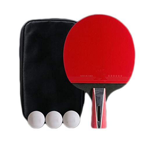 Best Price KATUEF Table Tennis Racket-Single ping Pong Paddle -Excellent Rotation Table Tennis Bats-...
