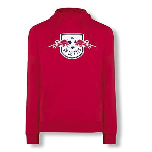 RB Leipzig Essential Hoodie, Rot Unisex X-Large Kapuzenpullover, RasenBallsport Leipzig Sponsored by Red Bull Original Bekleidung & Merchandise