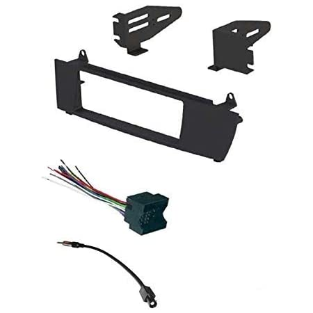 Amazon.com: ASC Car Stereo Install Dash Kit, Wire Harness, and Antenna  Adapter to Install and Aftermarket Single Din Radio for 2004 2005 2006 2007  2008 2009 2010 BMW X3: Car Electronics | 2004 Bmw X3 Wiring Harness |  | Amazon.com