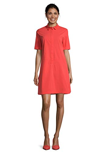 Betty Barclay Collection Damen 1040/1442_4056 Kleid, Poppy Red, 40
