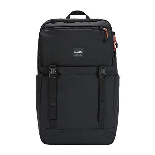 Pacsafe Slingsafe LX500, Anti-Diebstahl Rucksack, Daypack mit Sicherheitstechnologie, 21 Liter, Schwarz/Black