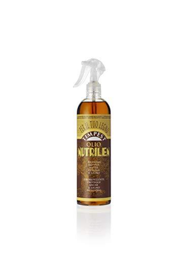 TIMPEST OLIO NUTRILEN LT. 0,500 - Olio per mobili che rigenera, ravviva, nutre e deterge il legno - liquido pronto all'uso