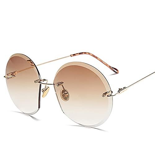 Único Gafas de Sol Sunglasses Ocean Lens Gafas De Sol Mujer Clásico Diseñador Hombre/Mujer Aleación Gafas De Sol Sin M