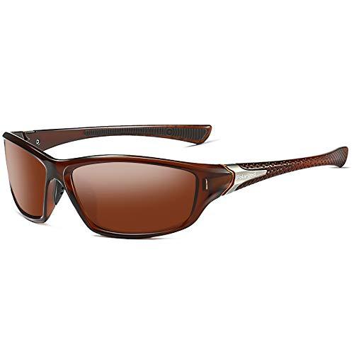 Grainas Gafas de sol deportivas polarizadas para hombres y mujeres, gafas de sol de ciclismo, pesca, conducción, senderismo, marco irrompible