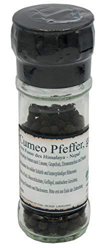 Cumeo Pfeffer aus Nepal, Pfeffer-Spezialität inkl. Mühle