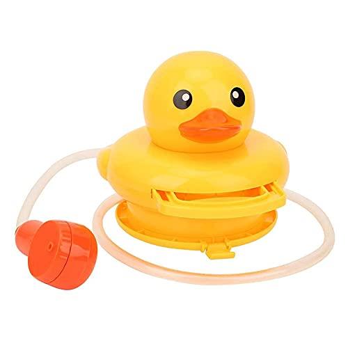 Badeente Spielzeug Elektrisches Wasserspray Spielzeug Süßes Baby-Dusche-Spielzeug Badewannenspielzeug Sprinkler Baden Spielspielzeug Interaktives Spielzeug Geschenk mit Duschkopf für Kinder Kleinkinde