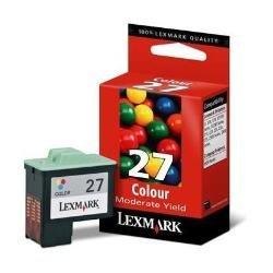 Lexmark 10NX227E - Tinta color, nº 27 color
