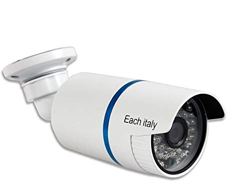 Vetrineinrete Telecamera bullet ahd full hd 1080p 3.0 mpx lente fissa 3,6 mm 48 led infrarossi per visione notturna video camera di sicurezza per esterno ip57 alta risoluzione 7548AHD G65