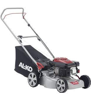AL-KO Benzin-Rasenmäher Easy 4.20 P-S (42 cm Schnittbreite, 2.0 kW Motorleistung, zentrale Schnitthöhenverstellung, Robustes Stahlblechgehäuse, für Rasenflächen bis 800 m²)