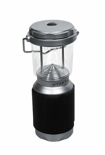 Varta 8x 5mm LED XS Campin Lantern Campinglampe Gartenlaterne Zeltlampe Laterne Leuchte Lampe Taschenlampe Flashlight (mit Karabiner geeignet für Camping, Angeln, Garage, Notfall, Stromausfall)