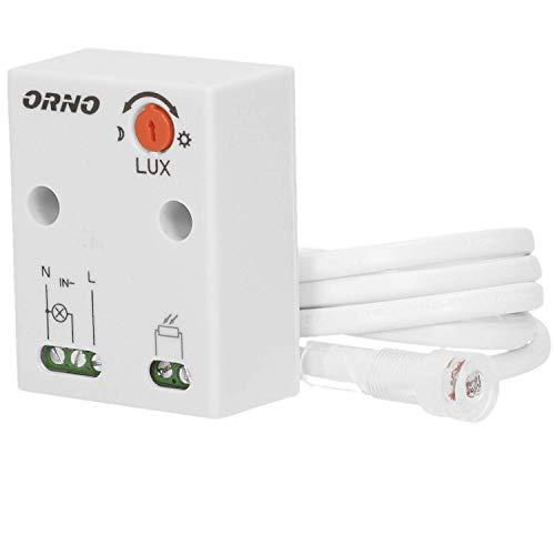 Orno OR-CR-233 schemeringssensor met externe sonde, IP65 max. belasting: 2300 W.
