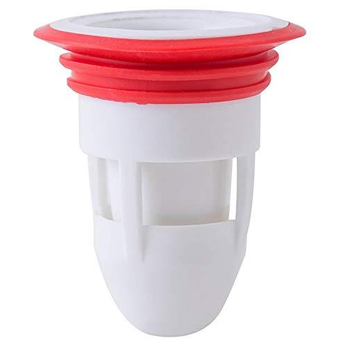 Skysep 4 Piezas Anillo Silicona Desodorante Tapón Sellado,Tapón Antiolor para Desagüe del Centro de Drenaje del Desagüe del Suelo de la Ducha,Baño Cocina Herramientas Limpieza
