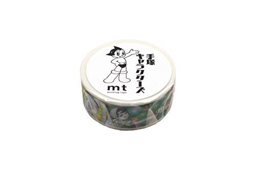 カモ井 マスキングテープ mt 手塚キャラクターズ リボンの騎士×フラワーパターン MTTOPR02